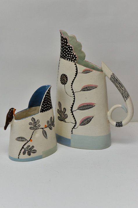 small and large black and white jugs.jpg