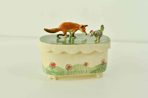 Fox and Hen Box