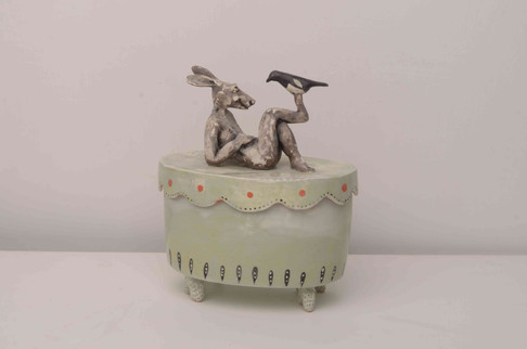 Cool Hare and Magpie Box