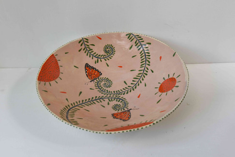 pink bowl with butterflies and ferns.jpg