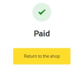 Dzen Tech booth payment