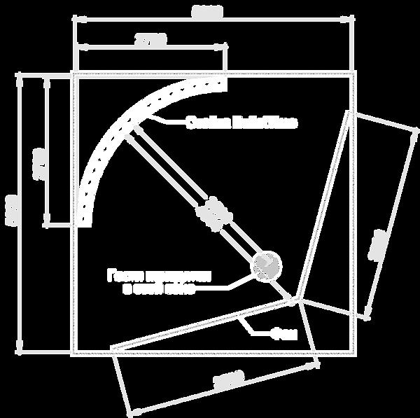 Схема затройки студии Bullet Time для аренды
