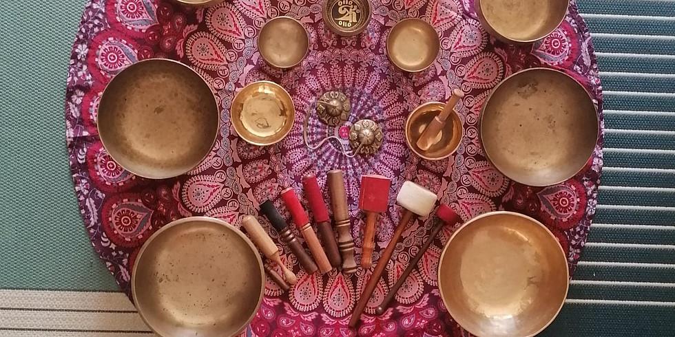 Voyage sonore au son des bols tibétains + atelier Nettoyage énergétique / Méditation