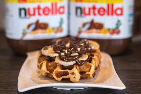 Nutella & Banana Belgian Waffle