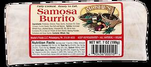 Moshe's Foods Samosa Burrito