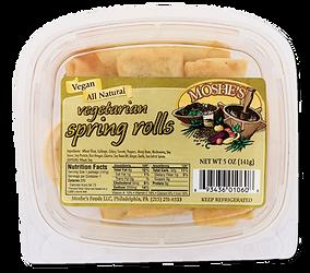 Moshe's Foods Vegan Spring Rolls