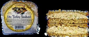 Moshe's Foods UnTurkey Sandwich