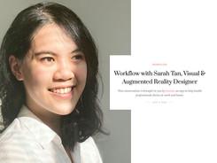 Workflow with Sarah Tan