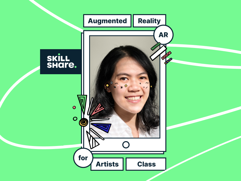 SkillShare Class: AR for Artists