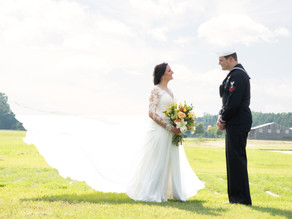 Military Aviation Museum Wedding | Sam & Morgan