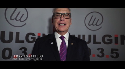 VIP-LUNCH with Jerry Inzerillo (CEO of Forbes Travel Guide)