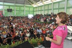Vicepresidenta de la Cámara de Diputados pide unidad a sectores para construir mejor sociedad
