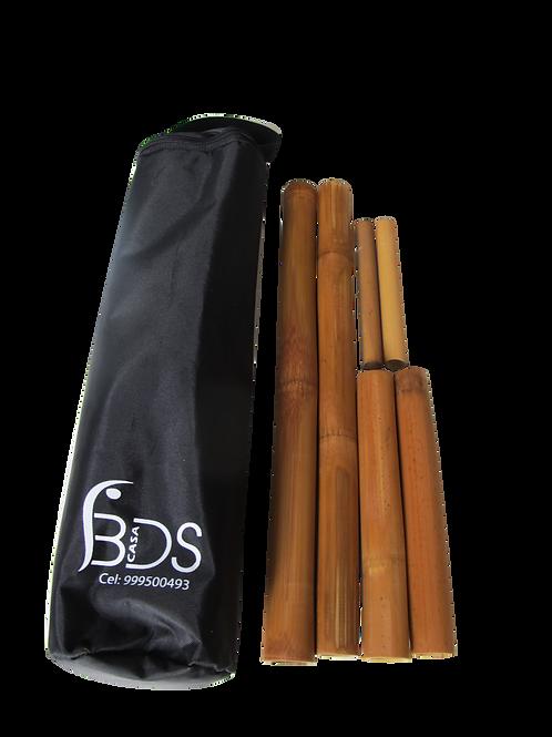 Kit de Cañas de Bambú