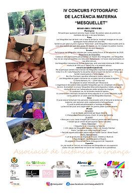 concurso fotgráfico lactancia materna mesquellet