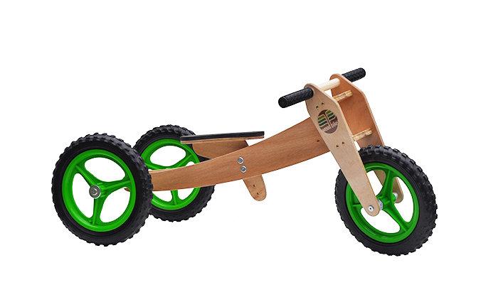 Woodbike 3em1 (verde)