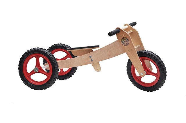 Woodbike 3em1 (vermelha)
