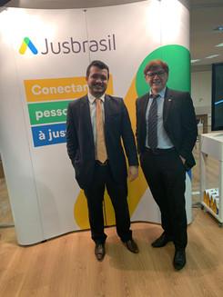 Advogados Jairo Sousa e Pedro Platon
