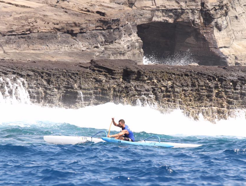 Kaiwa'a Team Riders racing in the 2017 Koa Nui Championships