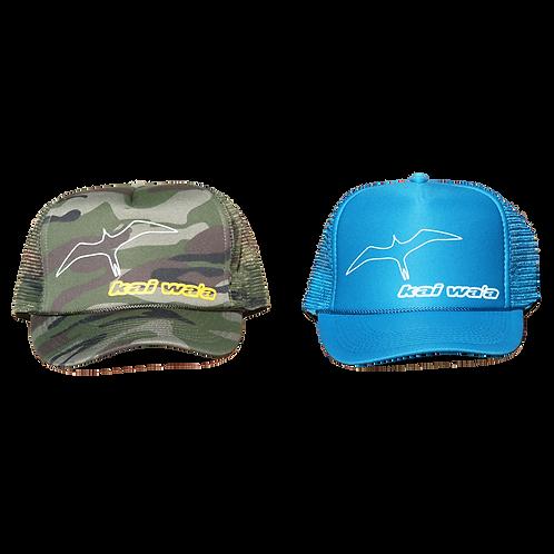 Kai Wa'a Iwa Trucker Hat