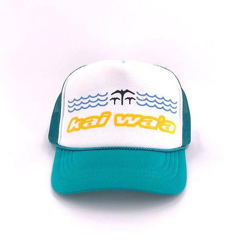 Kai Waʻa Keiki Trucker Hat