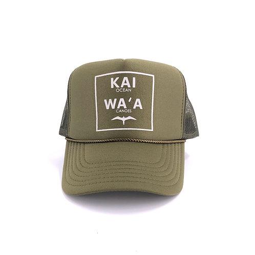 Kai Waʻa Ocean Canoe Trucker Hat