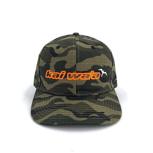 Kai Waʻa Camo Snapback Hat