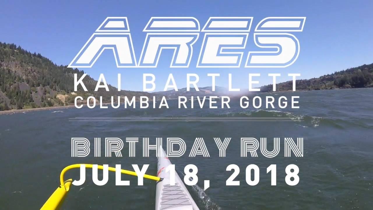 Kai Bartlett - 2018 Birthday Gorge Run on Kaiwa'a ARES OC1
