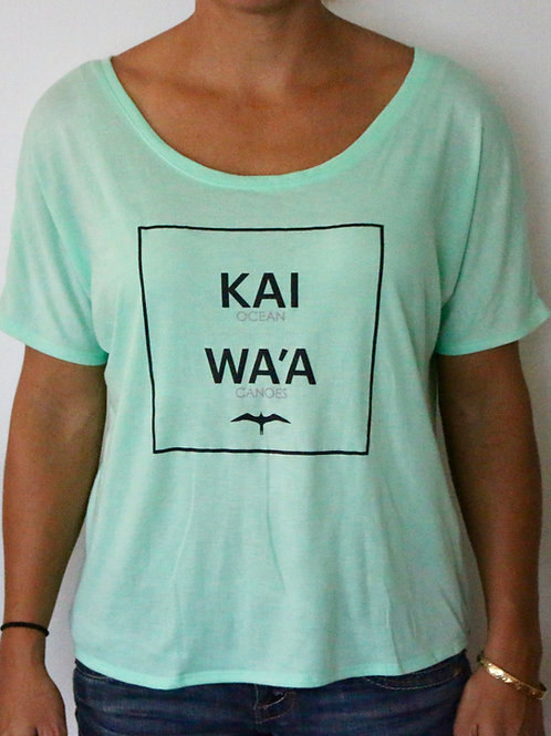 Kai Wa'a Scoop Tee
