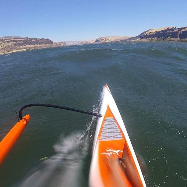 New favorite run at the gorge - #geminioc2 with @kaibartlett - action