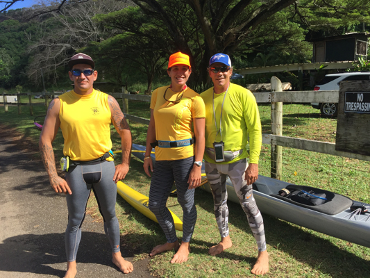 Weekend run from Maliko around Kahakuloa to DT Flemings Beach with our cousin Dane.