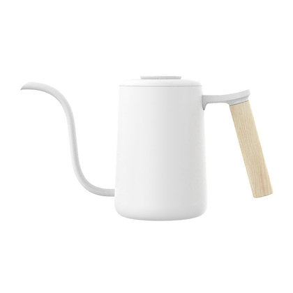 Pour Over Kettle - White 600ml