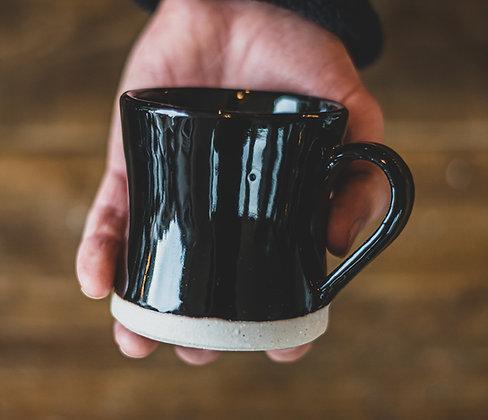 Heüge Mug Black Glaze - 300ml