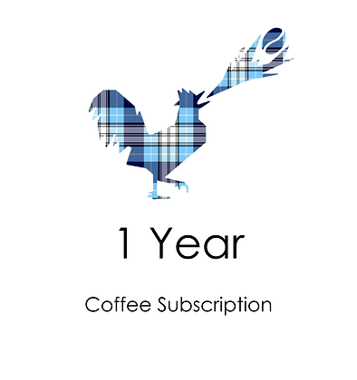 1 YEAR COFFEE SUBSCRIPTION