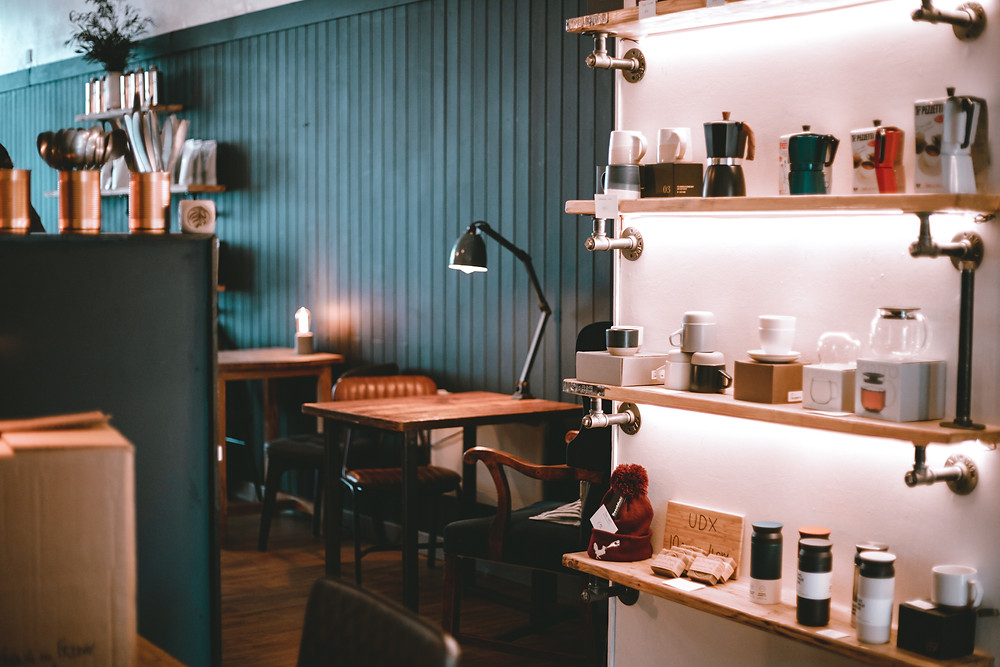 Cosy cafe environment at Unorthodox Roasters Stirling