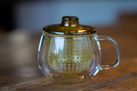Kinto Glass Tea Strainer