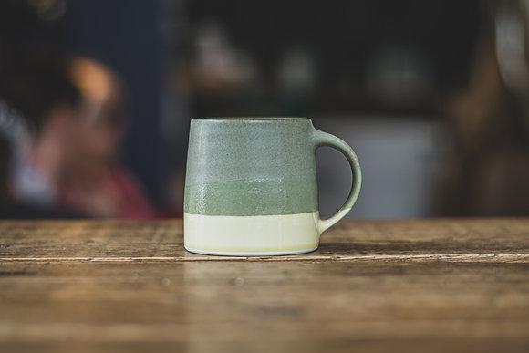 Hot Chocolate Mug - Moss Green