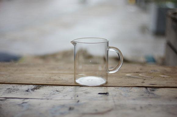 kinto glass hipster beaker