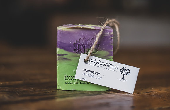 Lavender & Lime Vegan Shampoo Bar