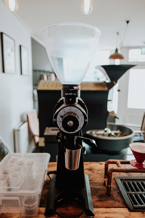 Mahlkonig EK43 at Unorthodox Roasters