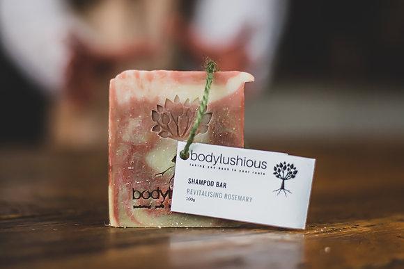 Revitalising Rosemary Vegan Shampoo Bar