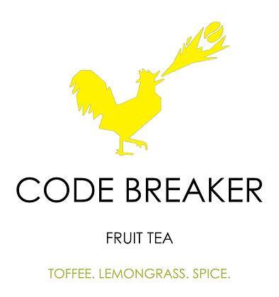 Code Breaker tea blended by Unorthodox Roaster
