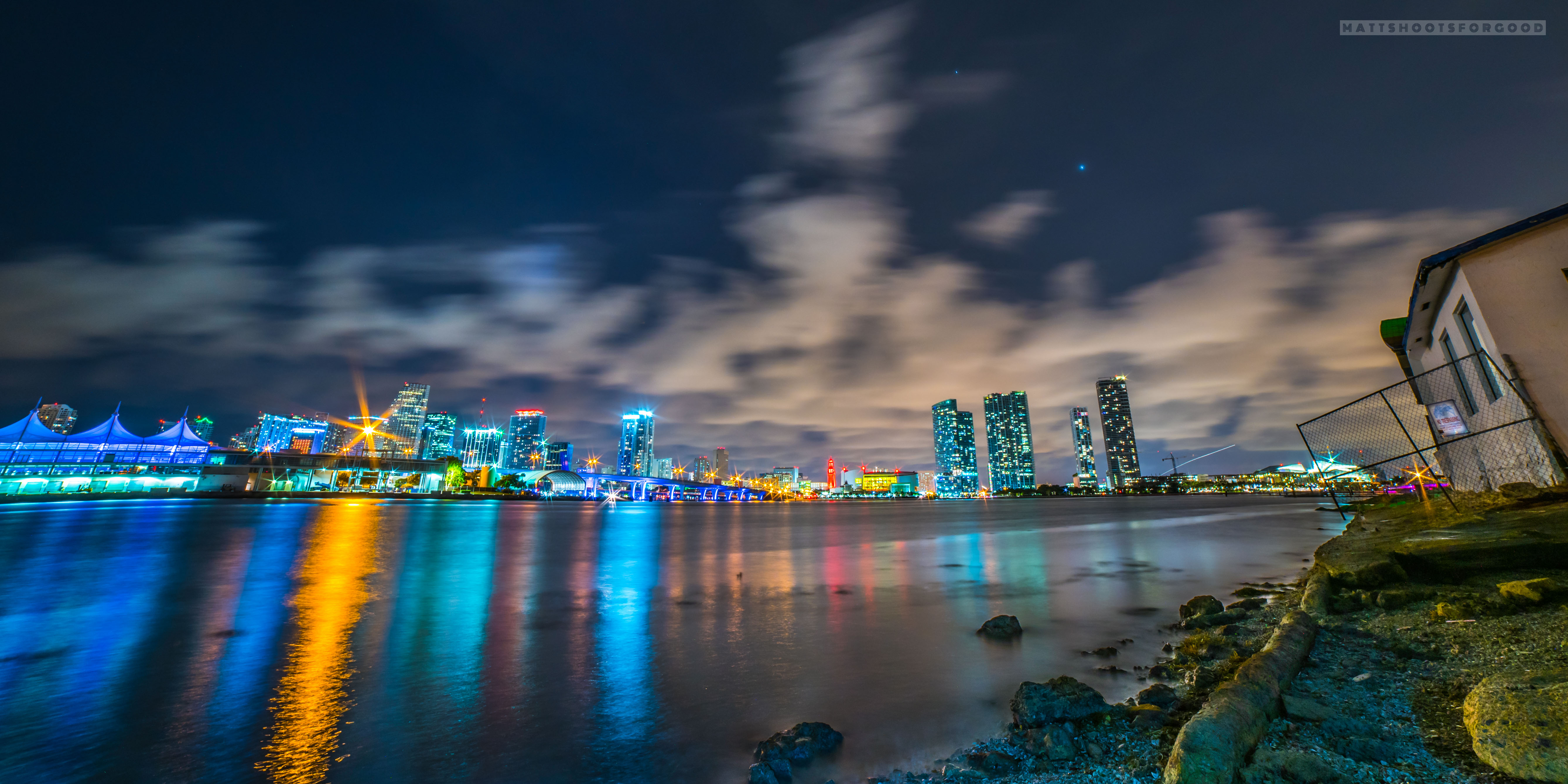 Miami Skyline - No Trespassing