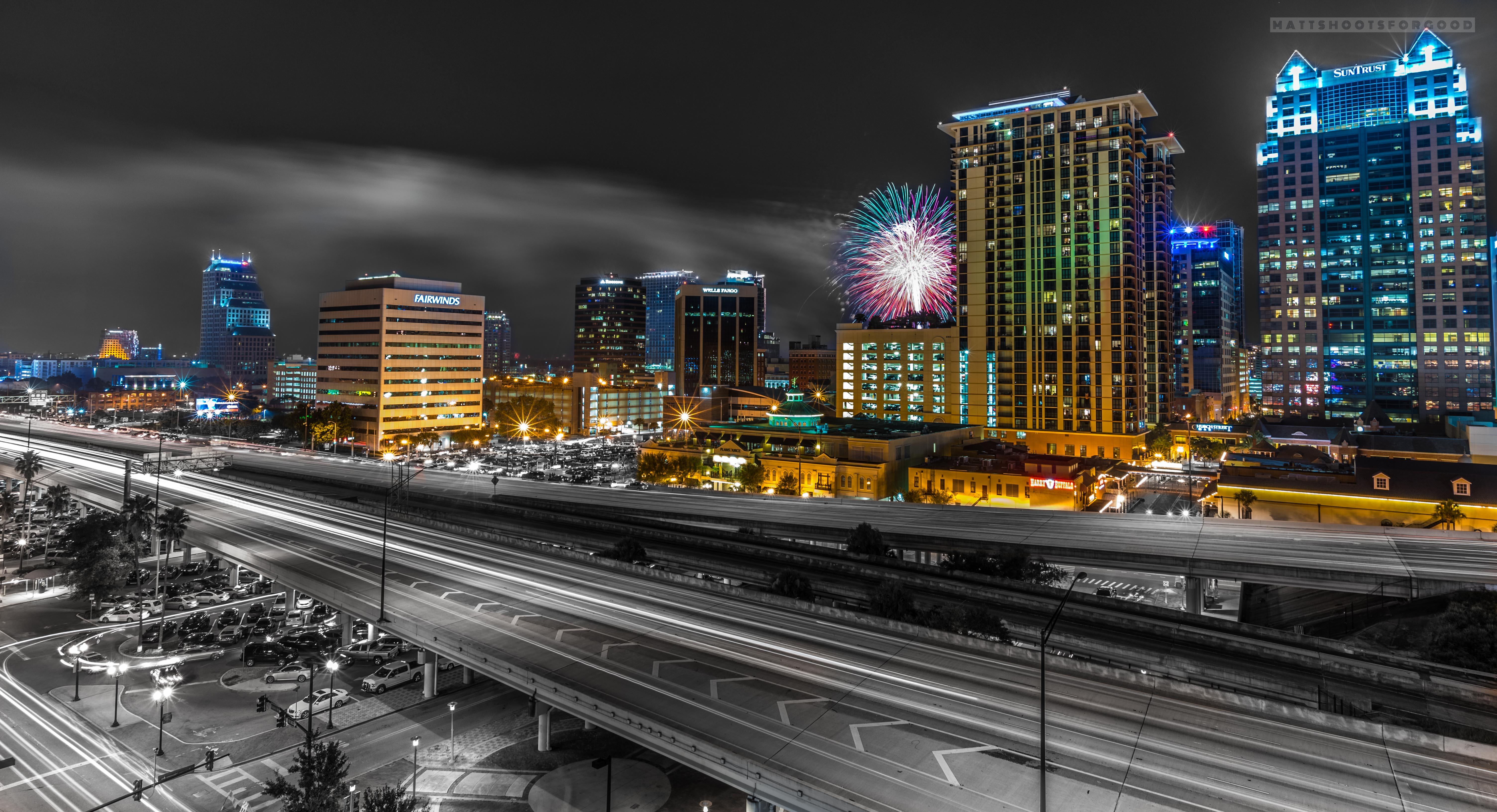 July 4th Orlando Skyline