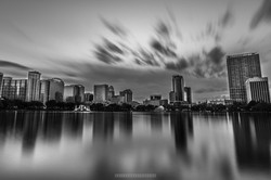 Lake Eola Clouds in Motion