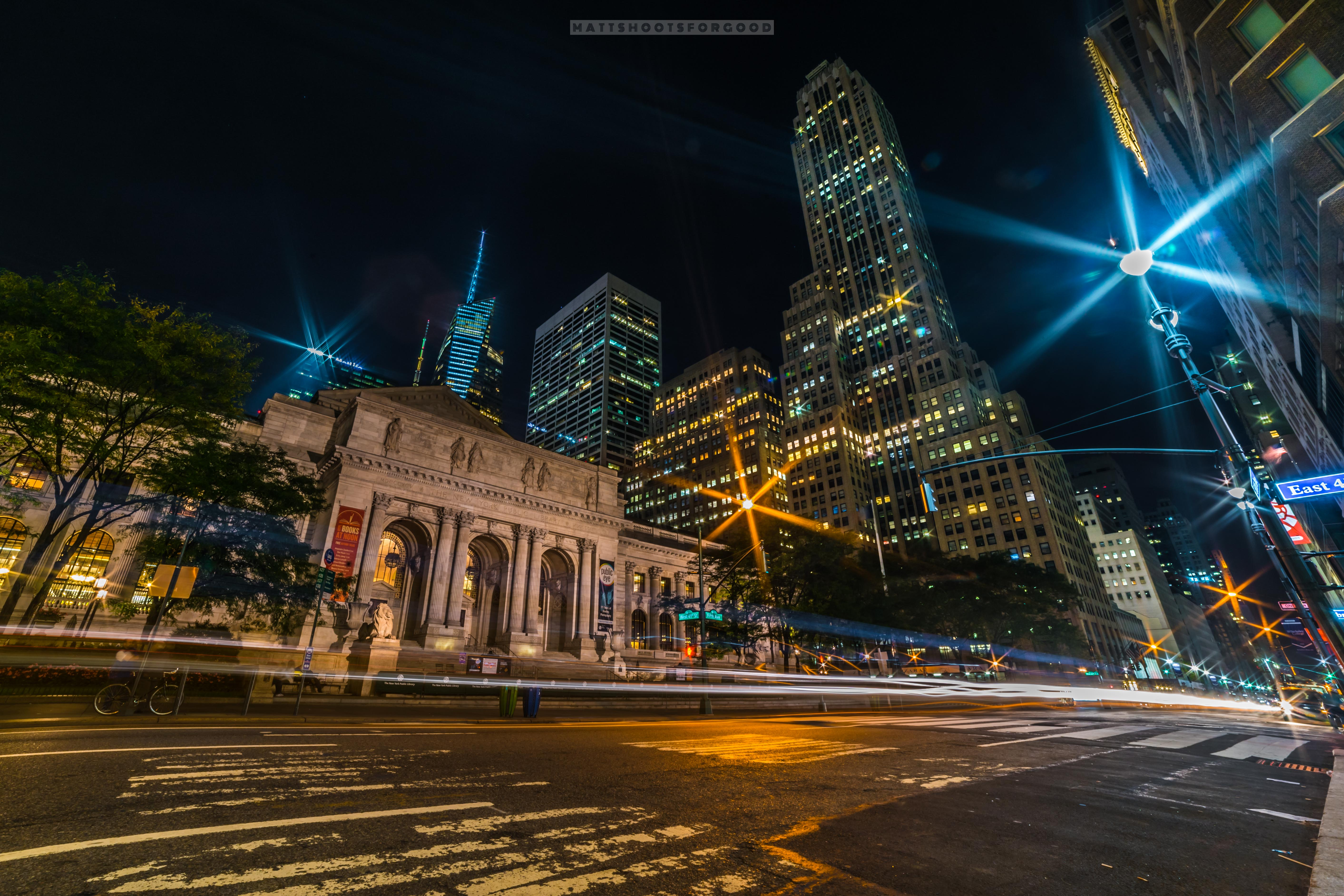 NYC Public Library Night