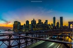 Brooklyn Bridge Balloons Skyline NYC