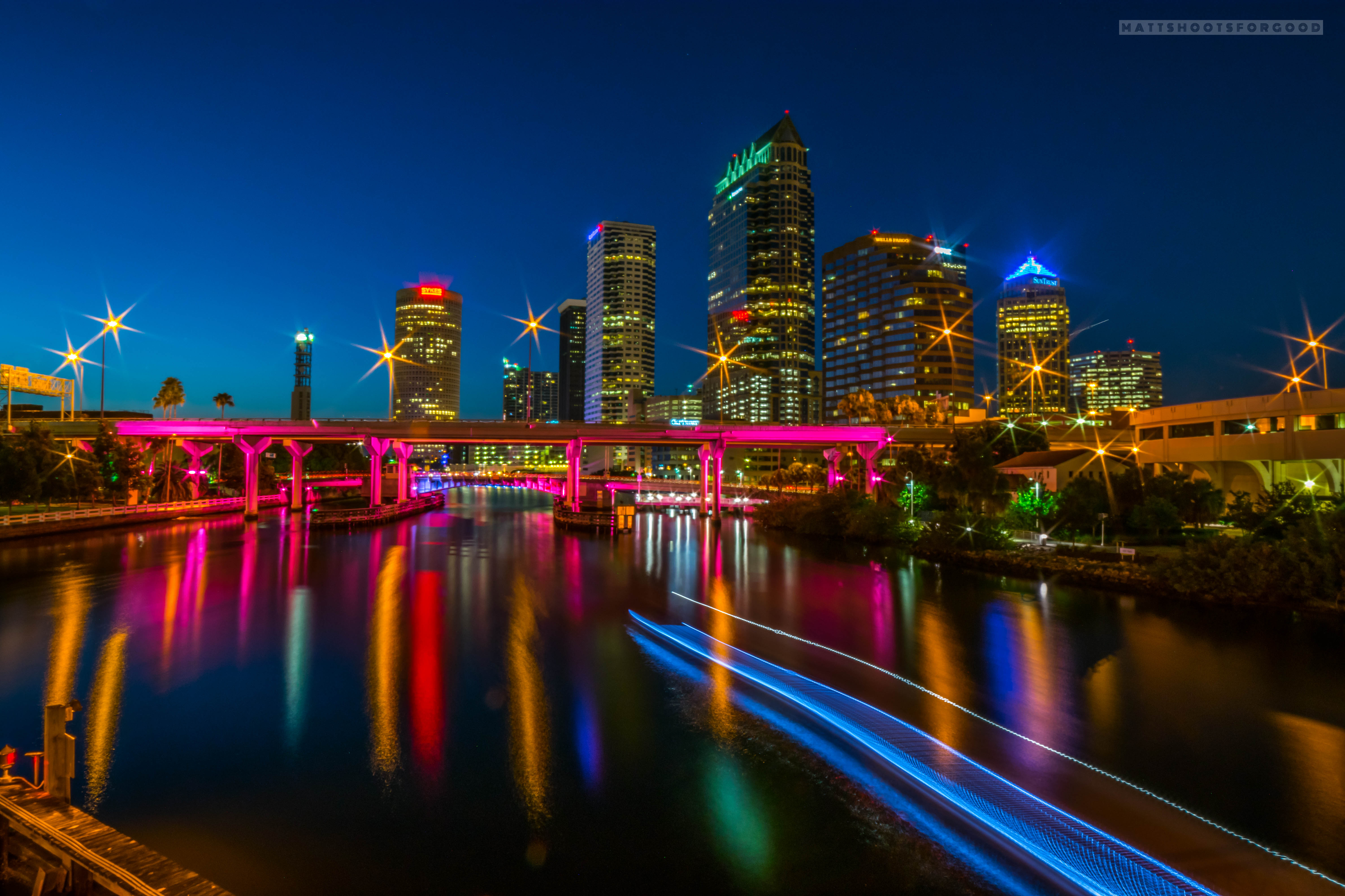 Downtown Tampa in Motion