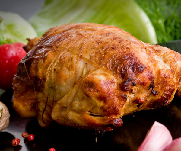 STUFFED COOKED COQUELET