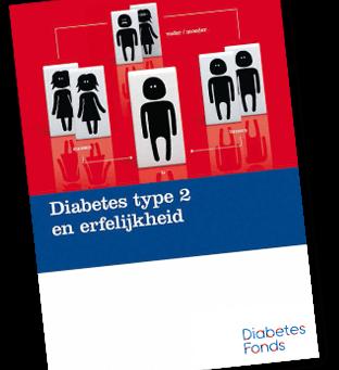 'Diabetes type 2 en erfelijkheid' -Diabetesfonds