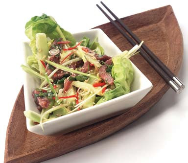 Thaise Biefsalade